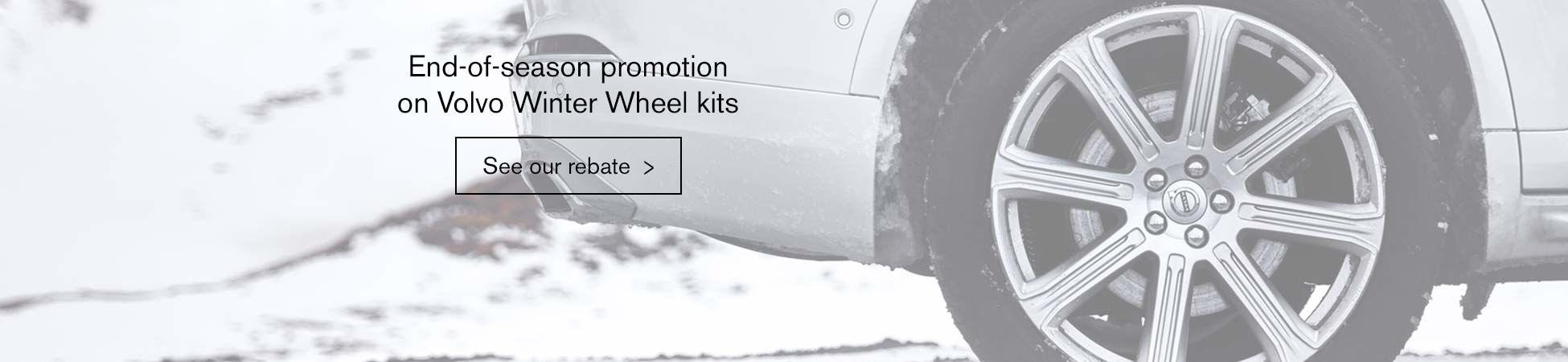 Original Volvo Winter wheels for sale