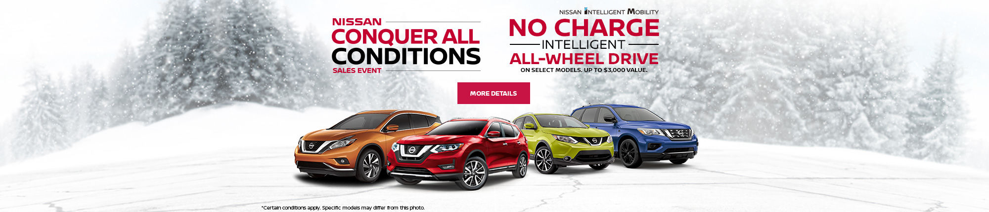 Nissan Conquer all conditions Event