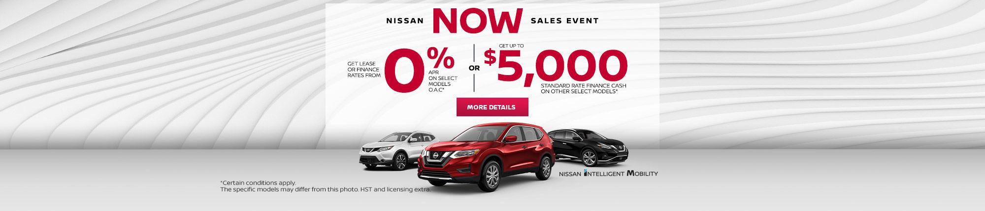 Nissan Flash Sale