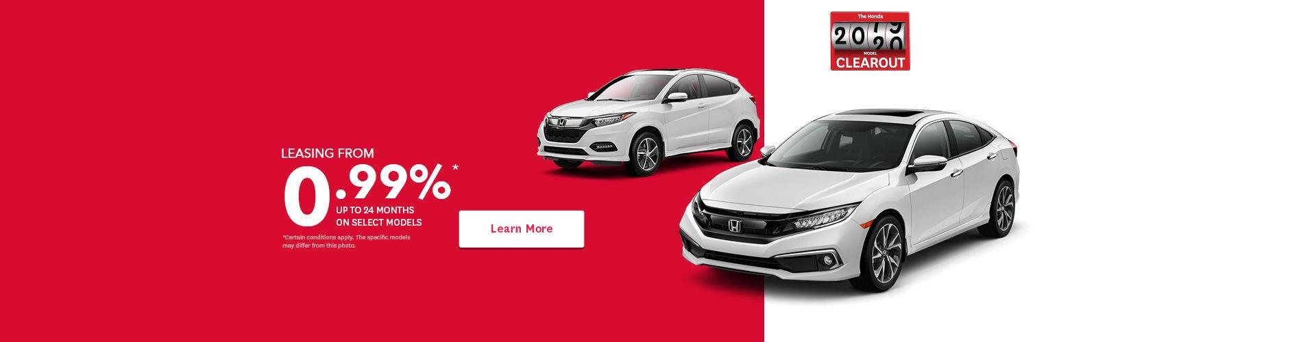 Honda event - header