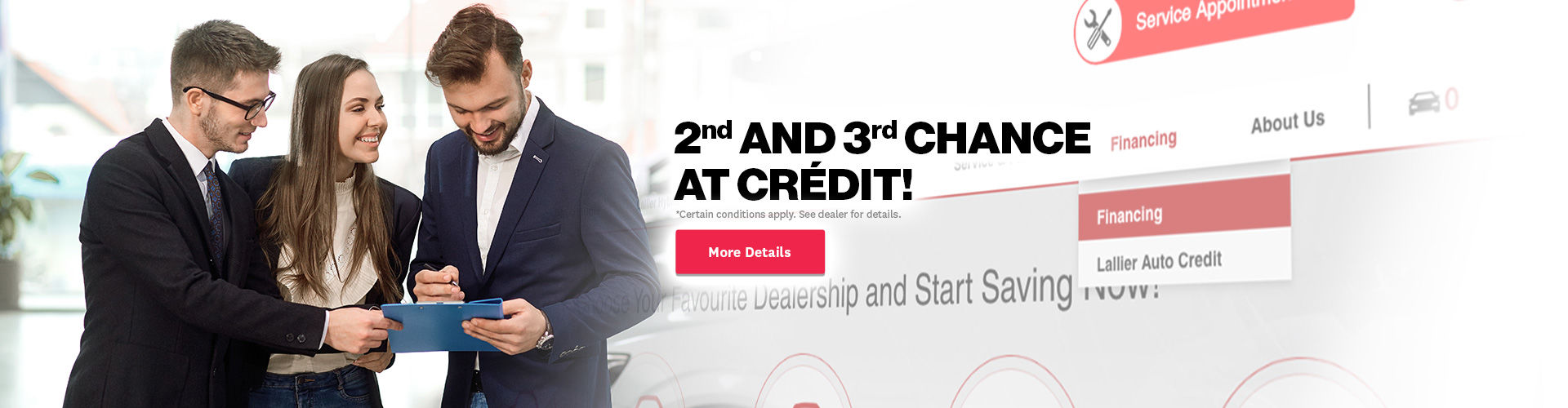 2nd and 3rd chance at credit