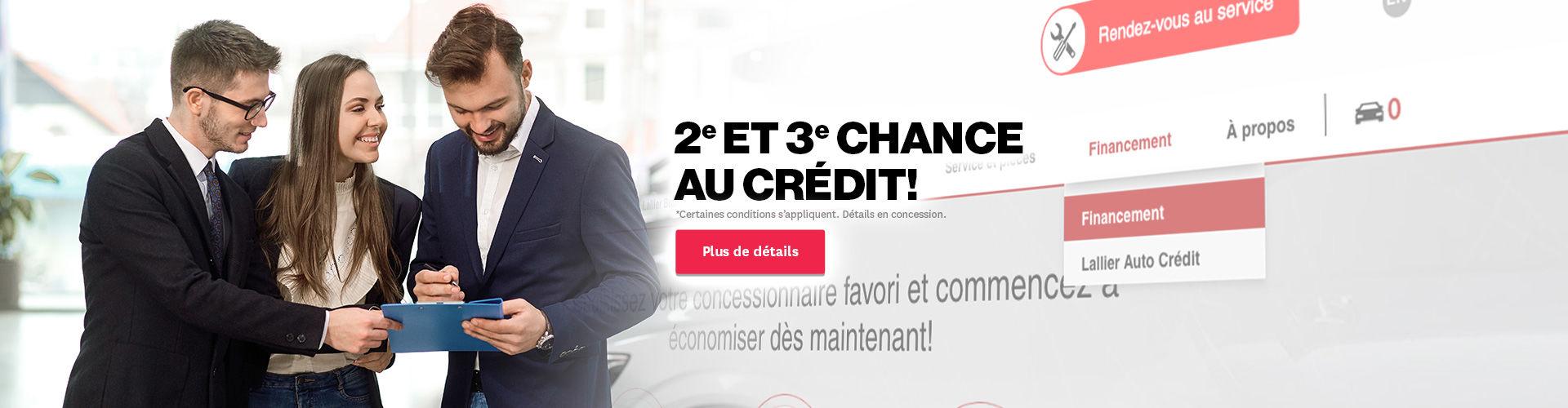 2e et 3e chance au crédit
