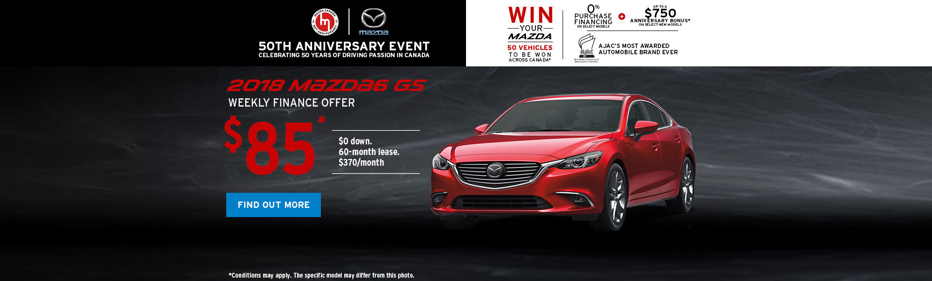 Get the 2018 Mazda6