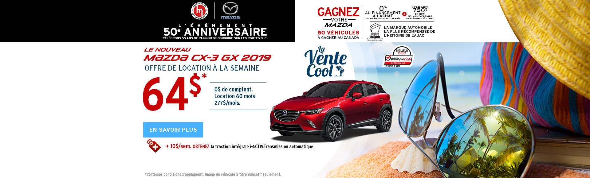 Mazda CX3 - HEADERS