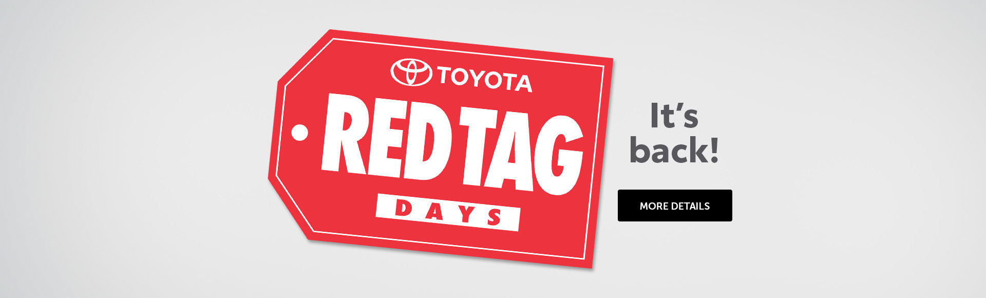 Toyota' Red Tag Event