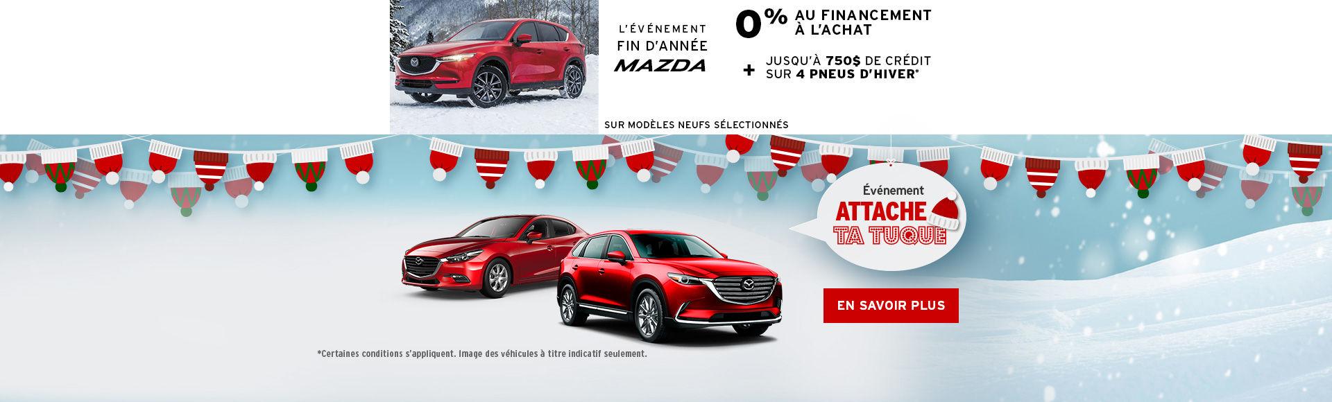 L'événement de Mazda! - attache ta tuque headers