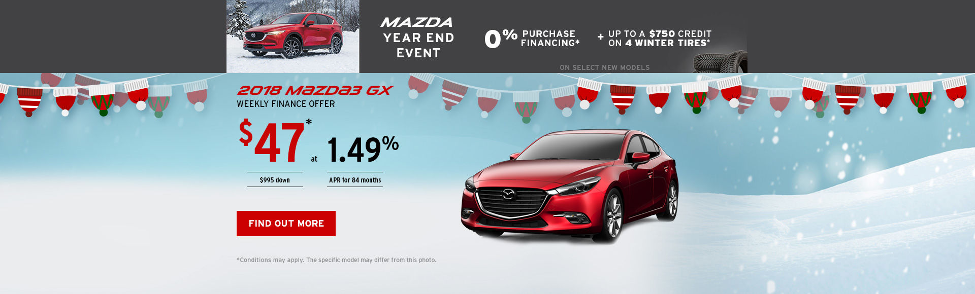 Get the 2018 Mazda3!