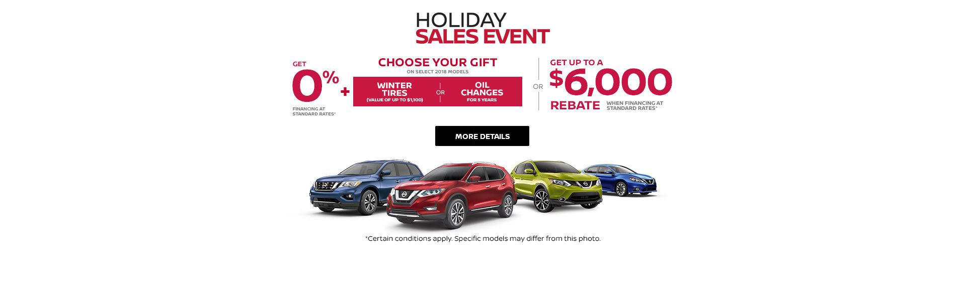 Nissan's Holiday Sales Event