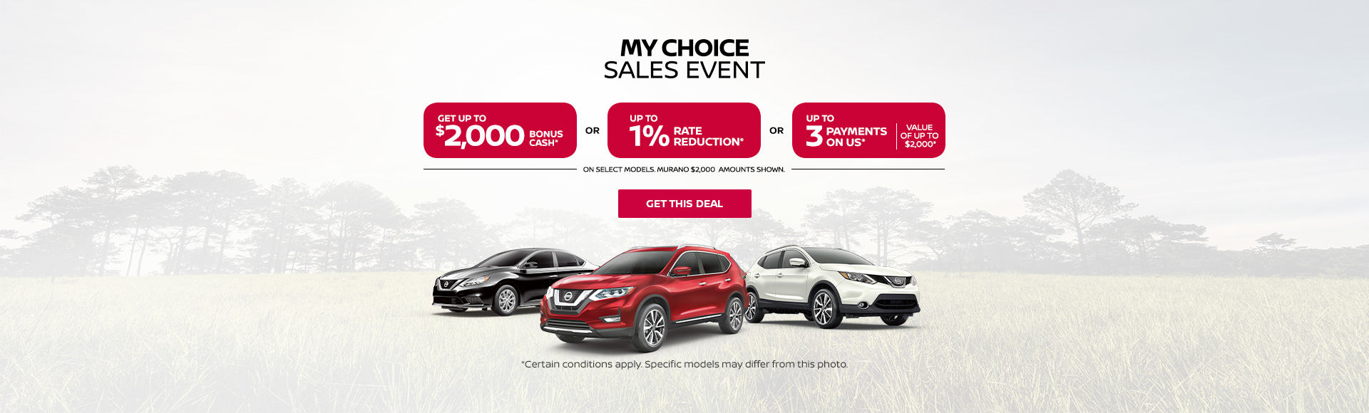 Nissan's 5 Day sale