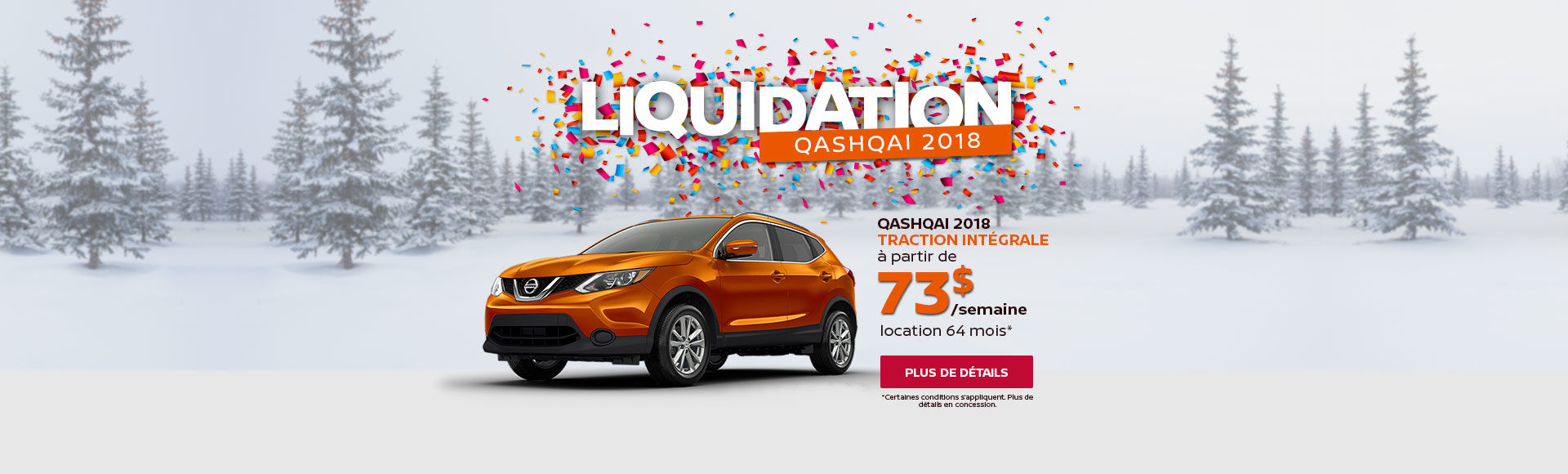 Liquidation Qashqai 2018