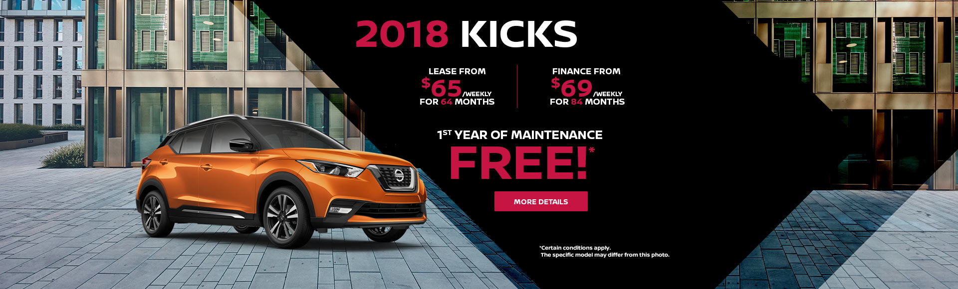 2018 Kicks Clearance