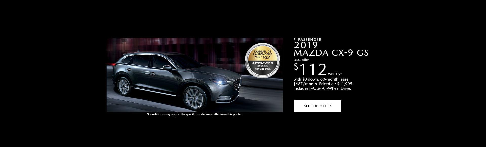 Get the 2019 Mazda CX-9