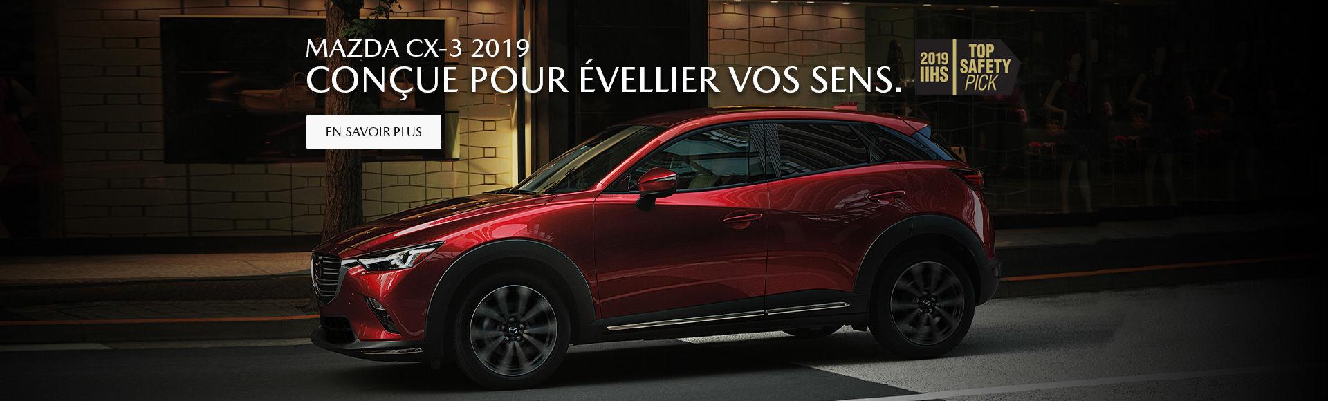 Mazda CX-3 2019 Baie-Comeau Mazda