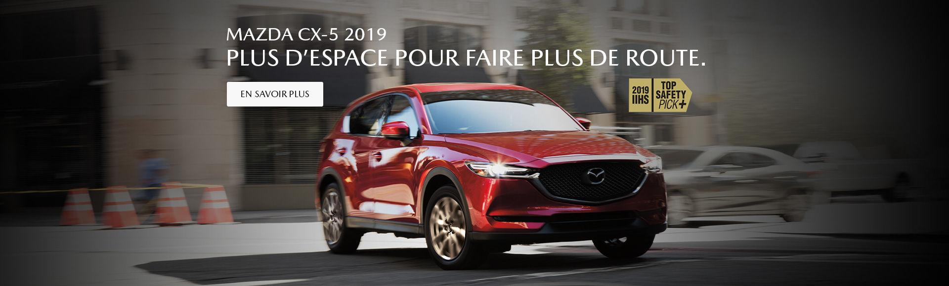 Mazda CX-5 2019 Baie-Comeau Mazda