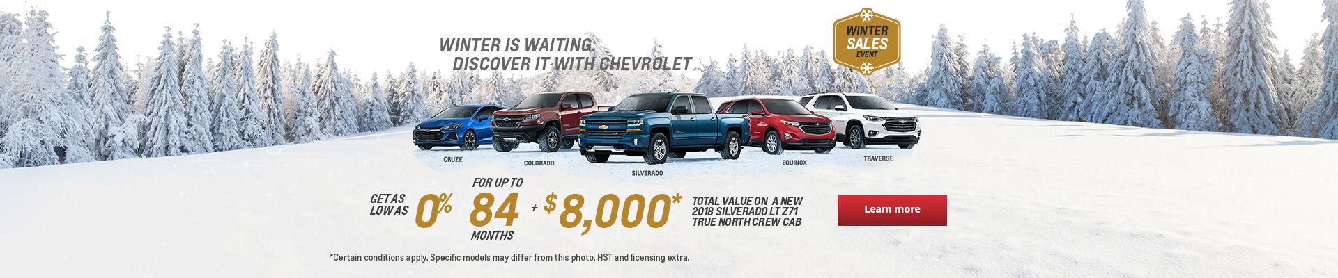 Winter Sales Event - headers