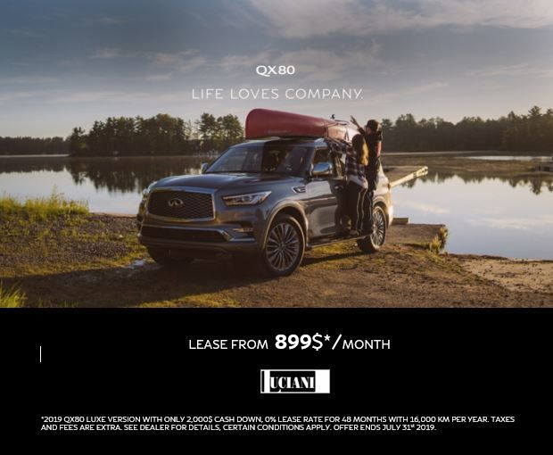 LUCIANI QX80 PROMOTION