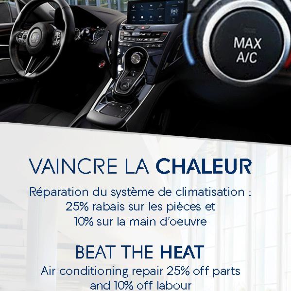 PROMOTION Réparation Système de Climatisation