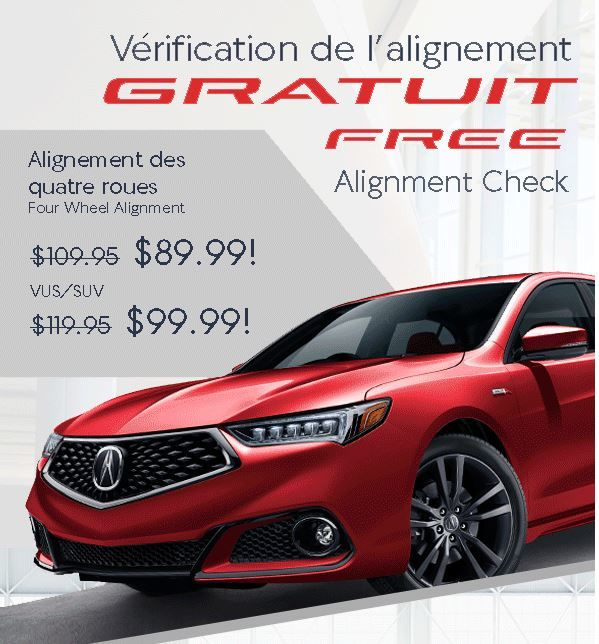 FREE Alignment Inspection PROMOTION