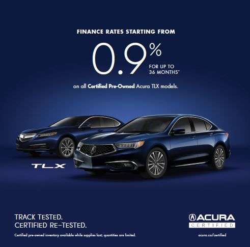 Rates starting at 0.9% on TLX