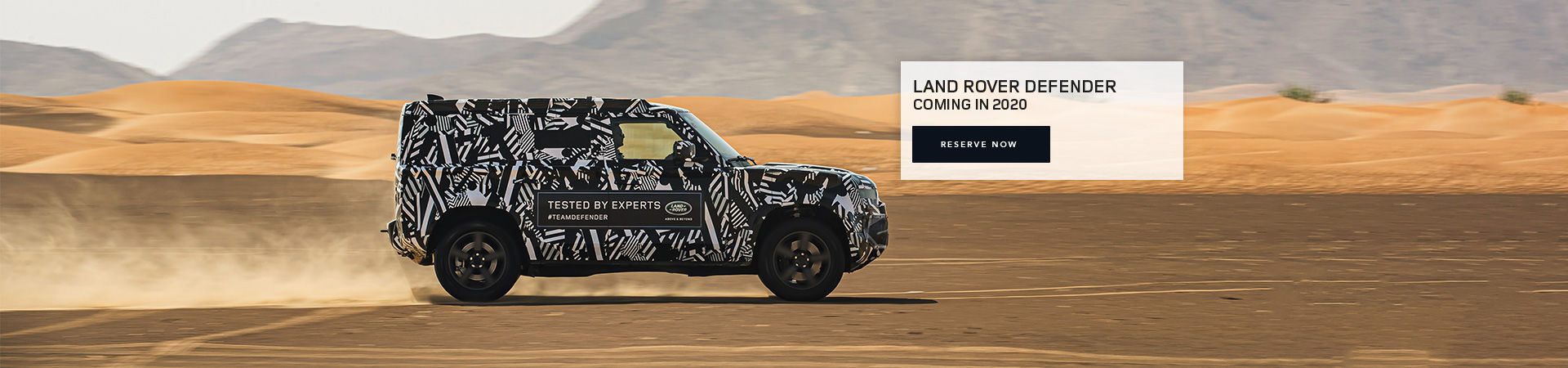 The 2020 Land Rover Defender