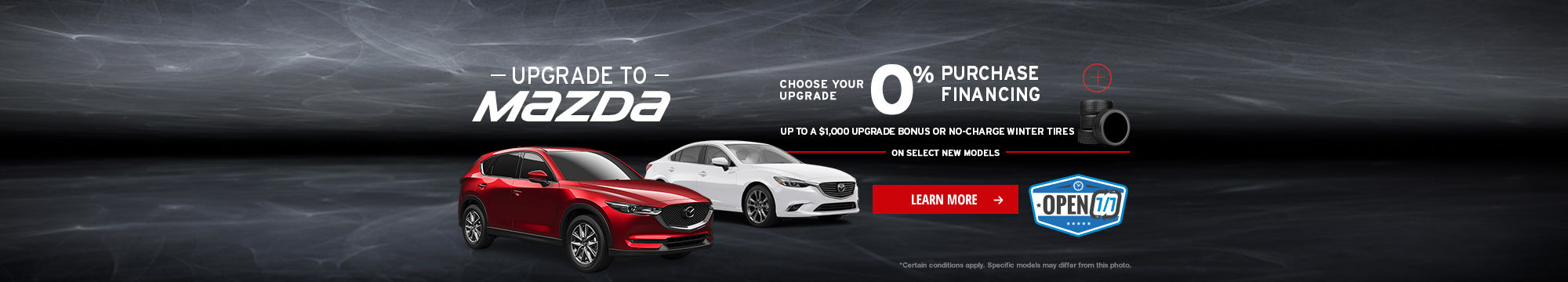 Upgrade to Mazda Event