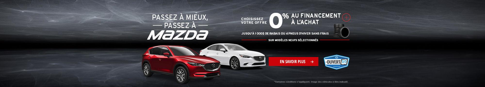 L'Événement Passez à Mazda