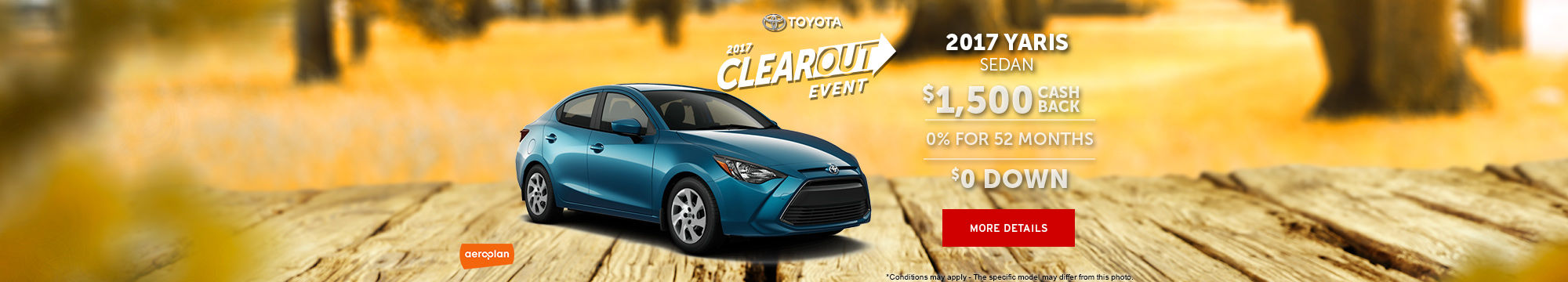 2017 Clearout Event - Yaris