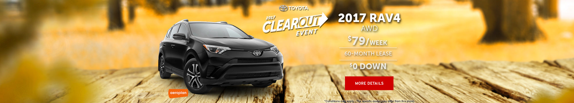 2017 Clearout Event - RAV4