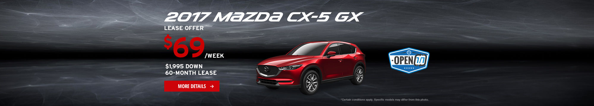 Upgrade to Mazda Event - CX-5