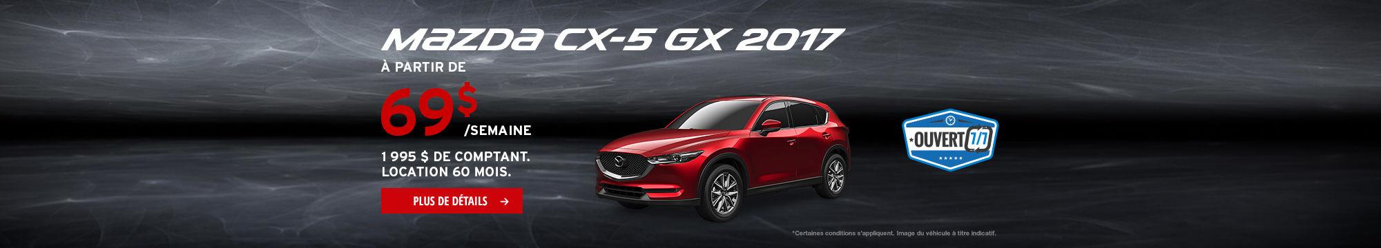 L'Événement Passez à Mazda - CX-5