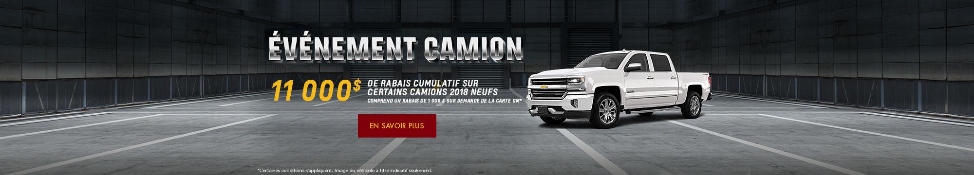 Événement camion - Chevrolet