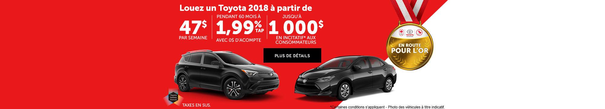 Toyota janvier