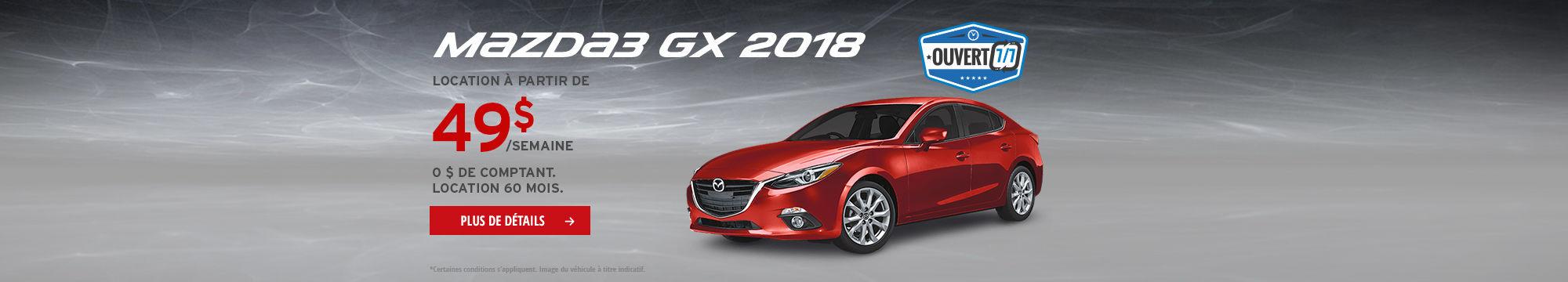 L'événement traction intégrale i-ACTIV - Mazda3