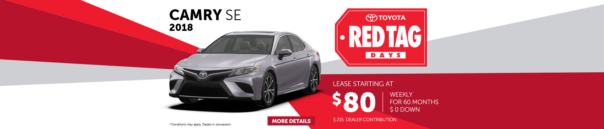Red Tag Days - Camry