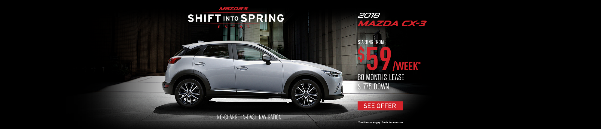 Shift into Spring - CX-3