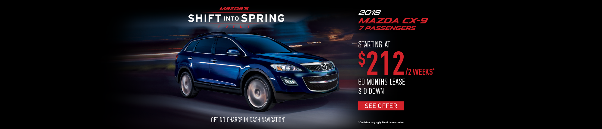Shift into Spring - CX-9