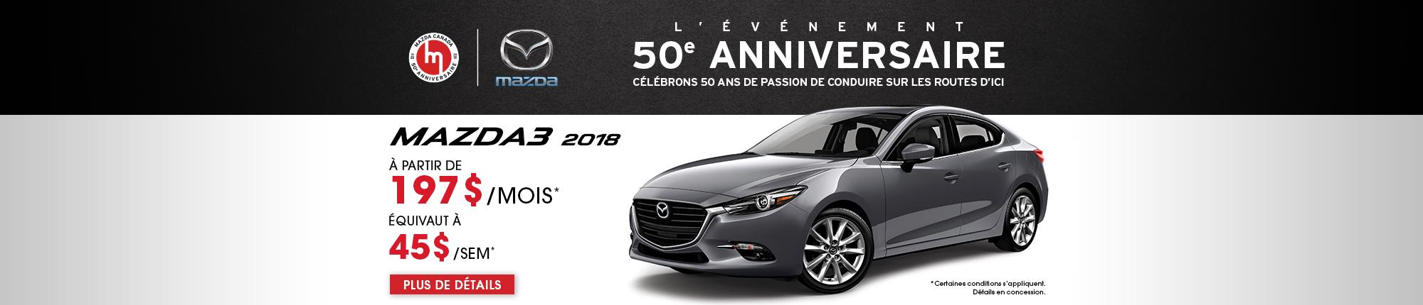 L'événement 50e anniversaire - M3