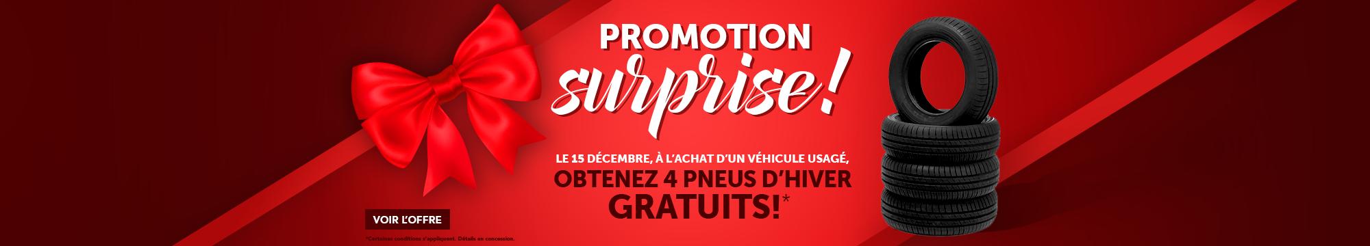 Promotion surprise!