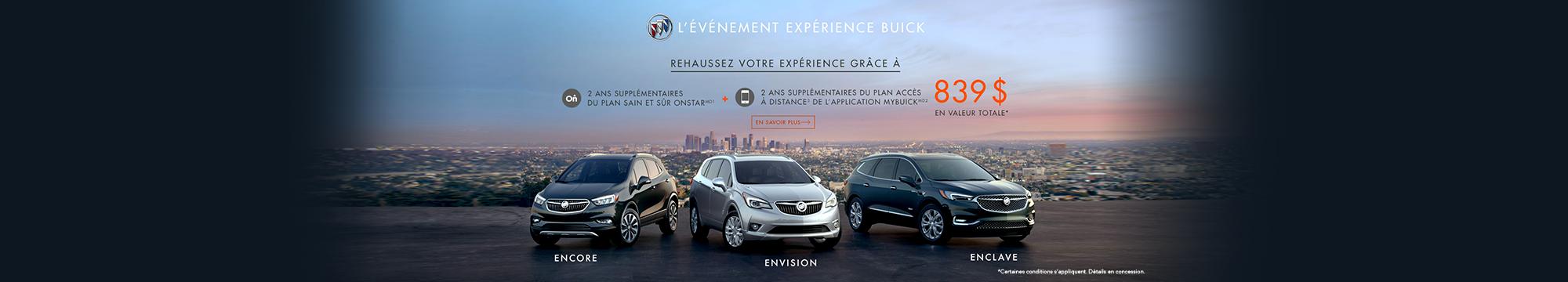 Événement expérience Buick