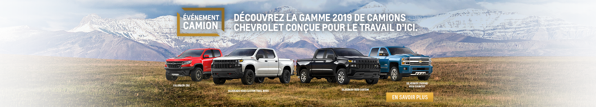 Chevrolet - Événement Camion