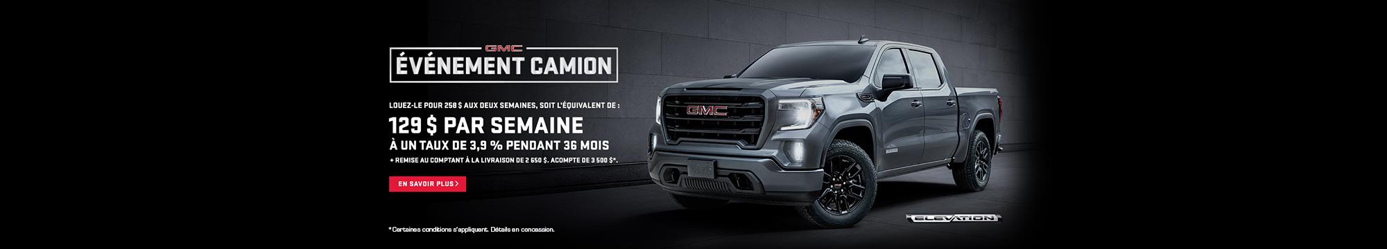 GMC - Événement Camion