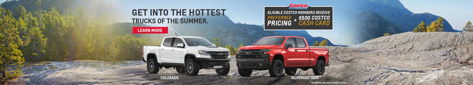 Costco - Preferred pricing Chevrolet