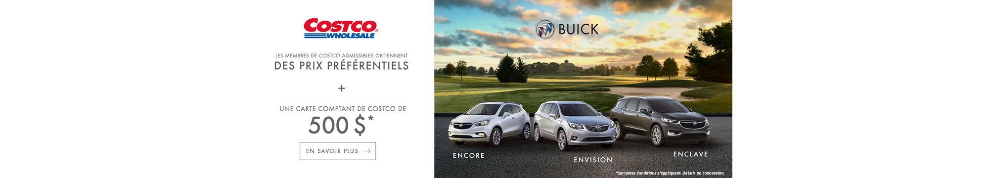 Costco - Prix préférentiel Buick