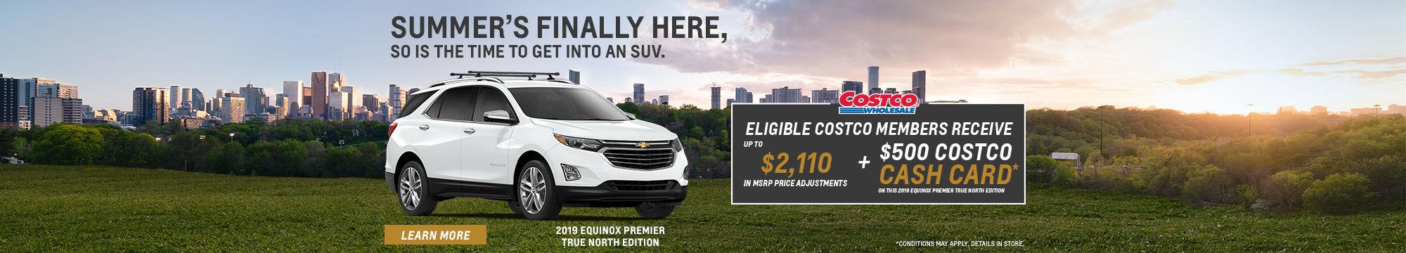 Costco - Preferred pricing Chevrolet Equinox