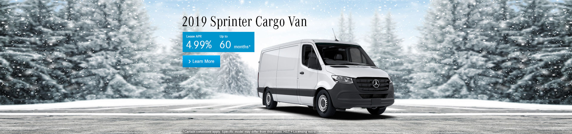 The 2019 Sprinter Cargo Van-desktop