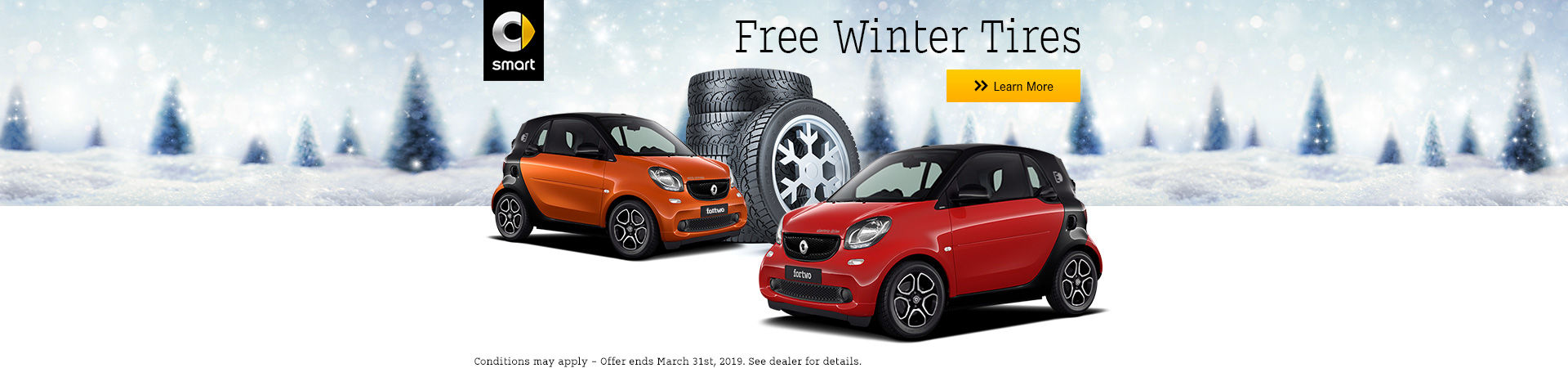 Free winter tires header