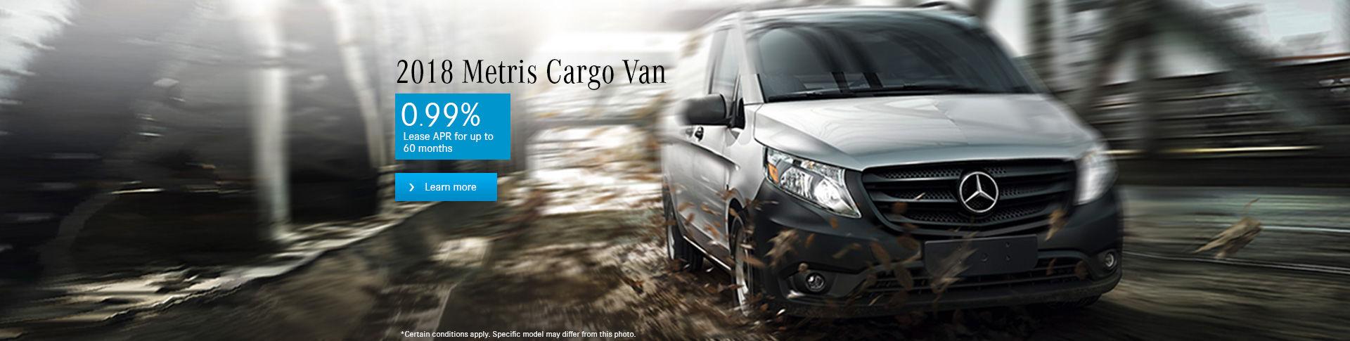 Metris Cargo Van 2018