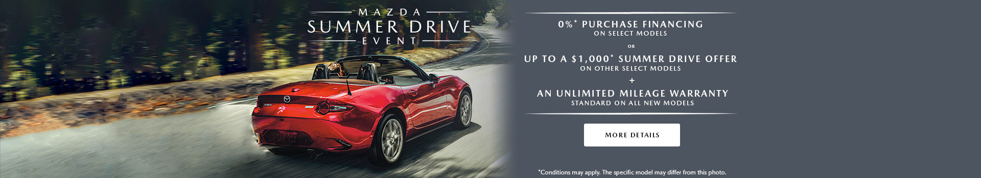 The Mazda Summer Drive Event - header