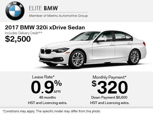 Get The BMW I XDrive Sedan Today Elite BMW Ottawa - Bmw 320i features