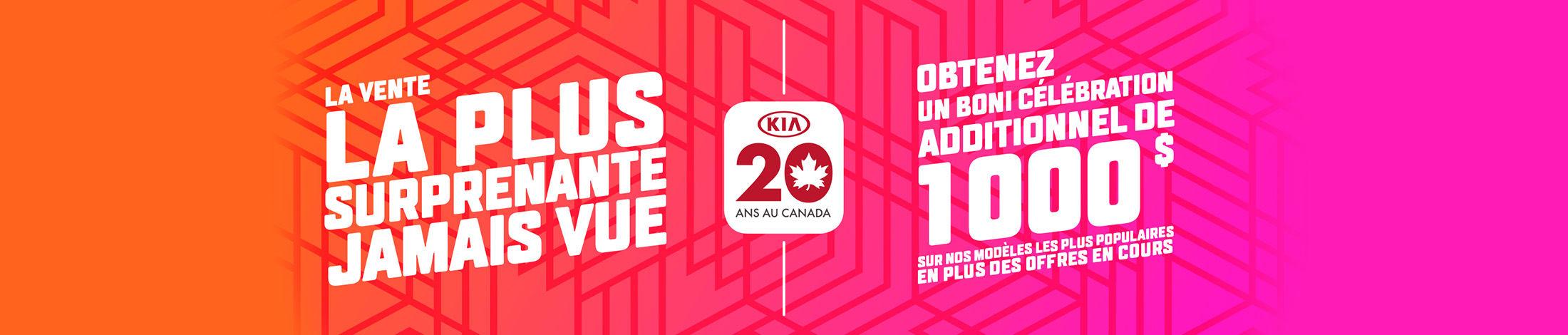 La vente la plus surprenante jamais vue Kia